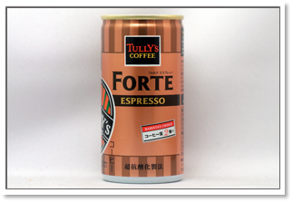 TULLY'S COFFEE BARISTA'S CHOICE フォルテエスプレッソ