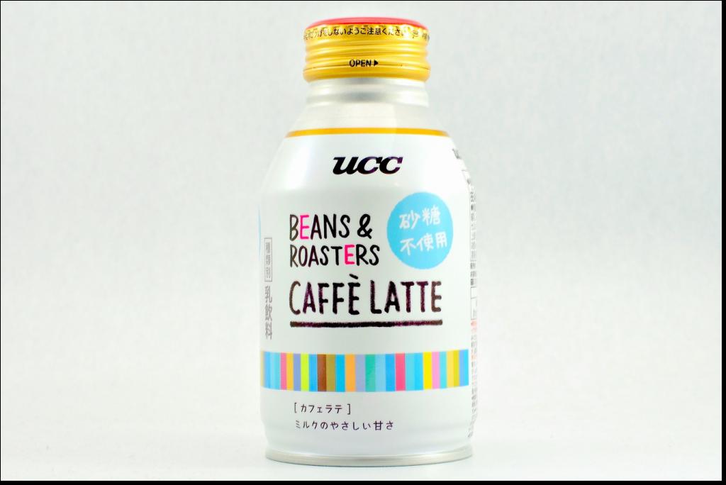 UCC BEANS &ROASTERS CAFFE LATTE 砂糖不使用