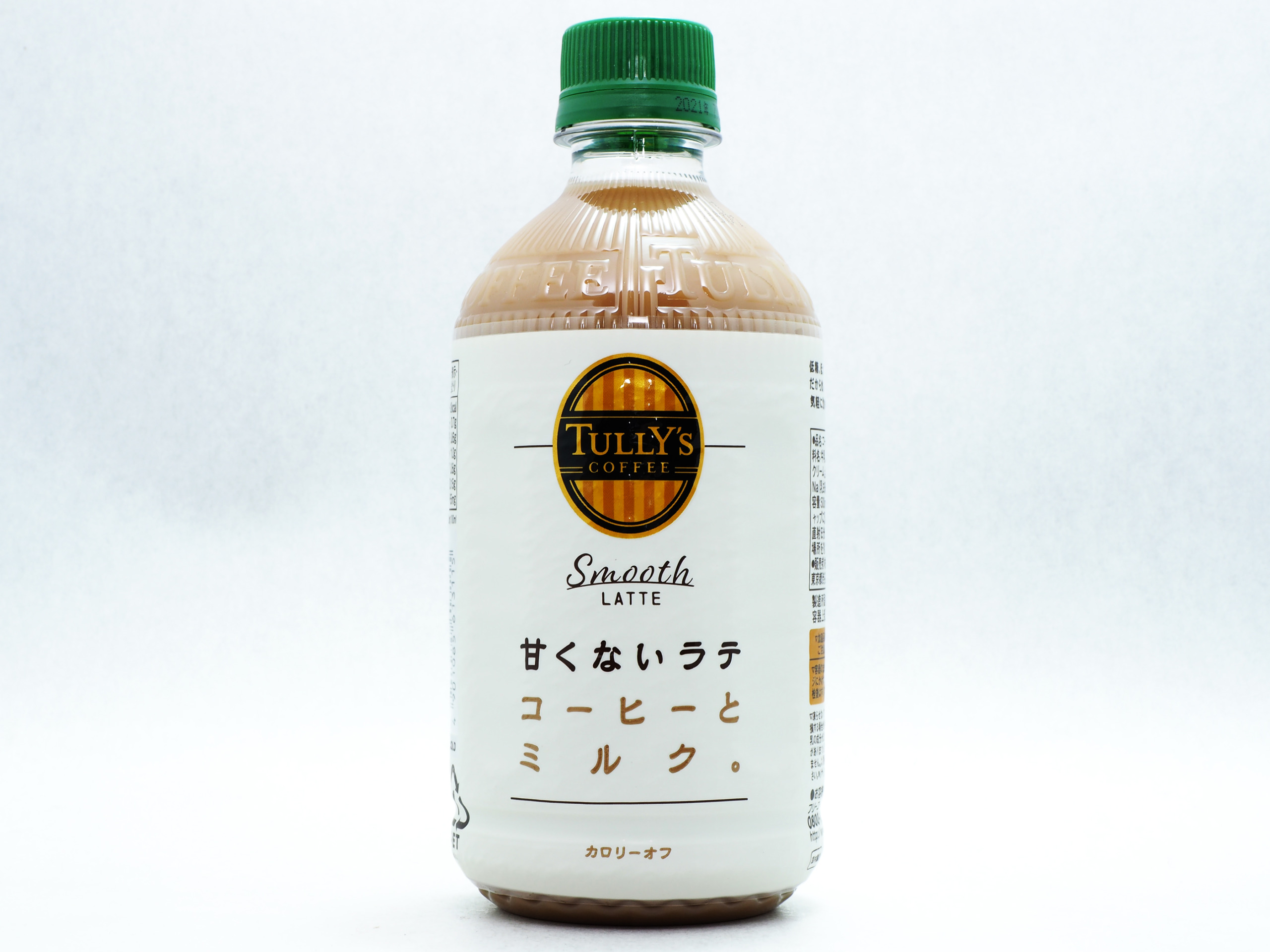 TULLY'S COFFEE Smooth LATTE 甘くないラテ PET 500ml