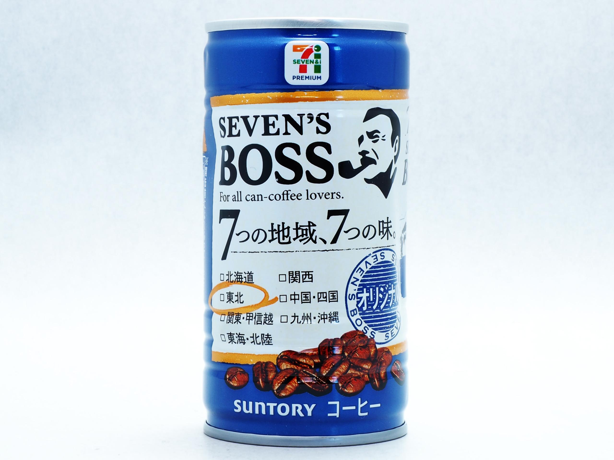 サントリーフーズ SEVEN'S BOSS オリジナル 東北限定