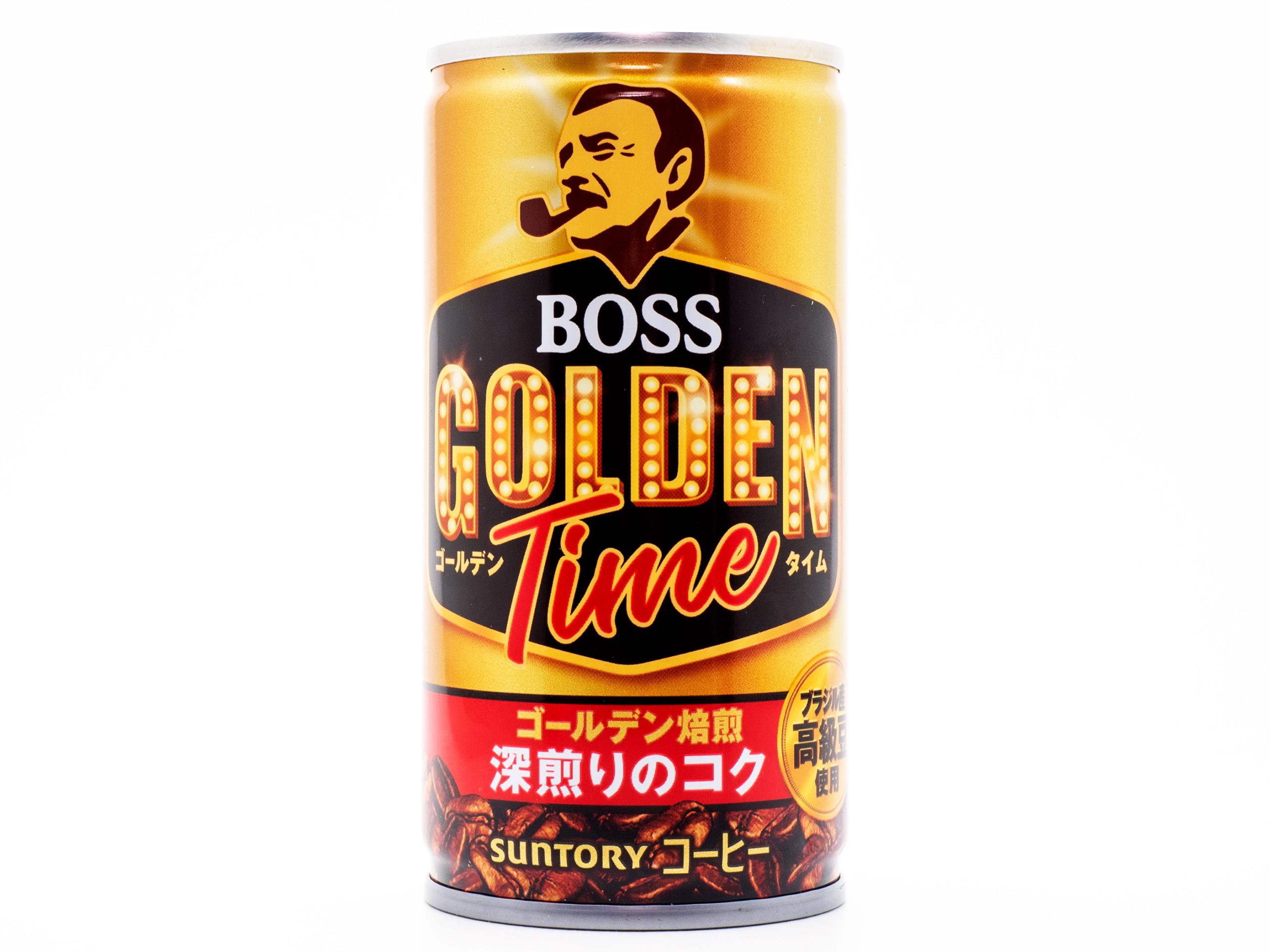 サントリーフーズ BOSS ゴールデンタイム