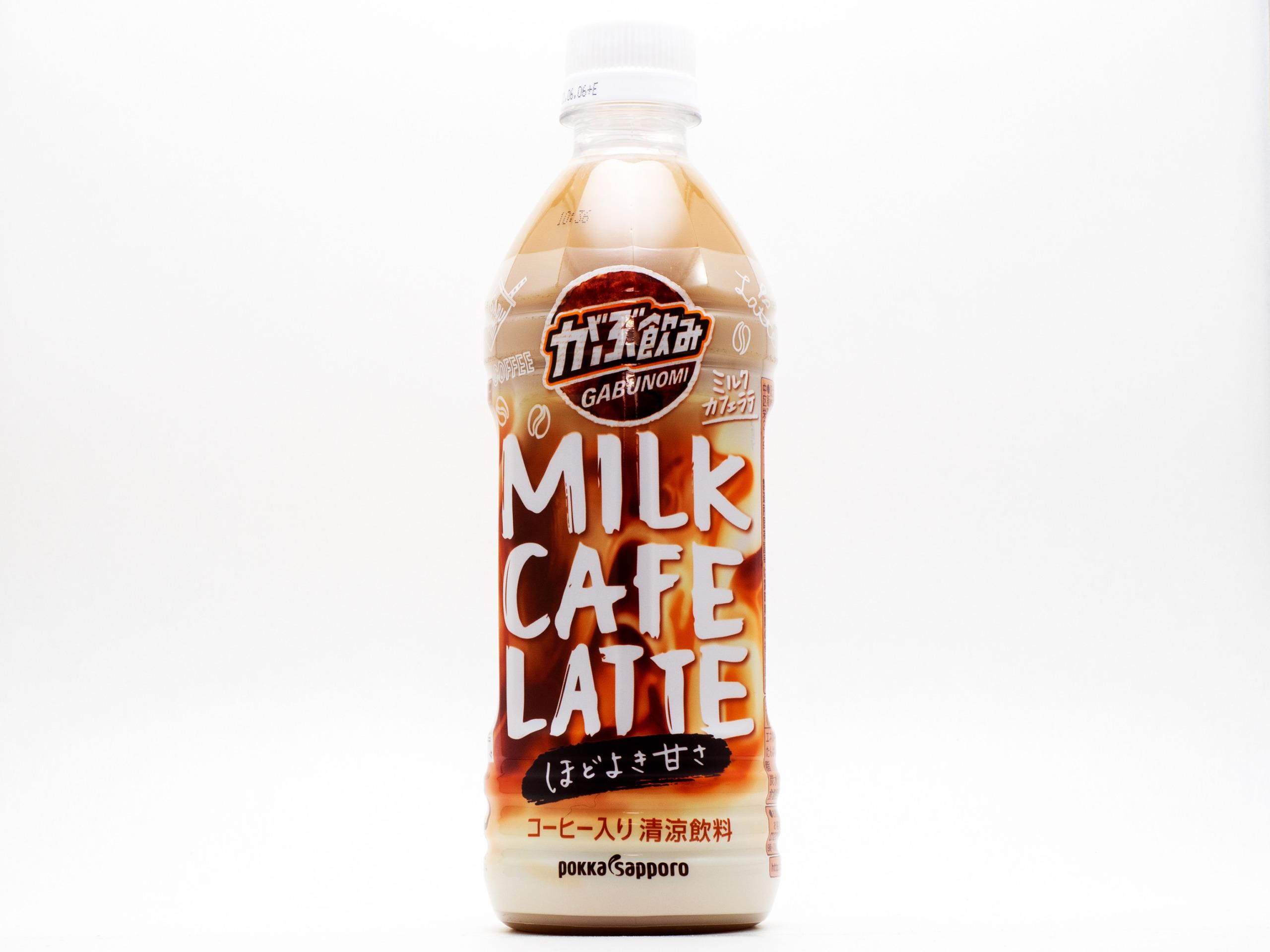 ポッカサッポロフード&ビバレッジ がぶ飲み ミルクカフェラテ
