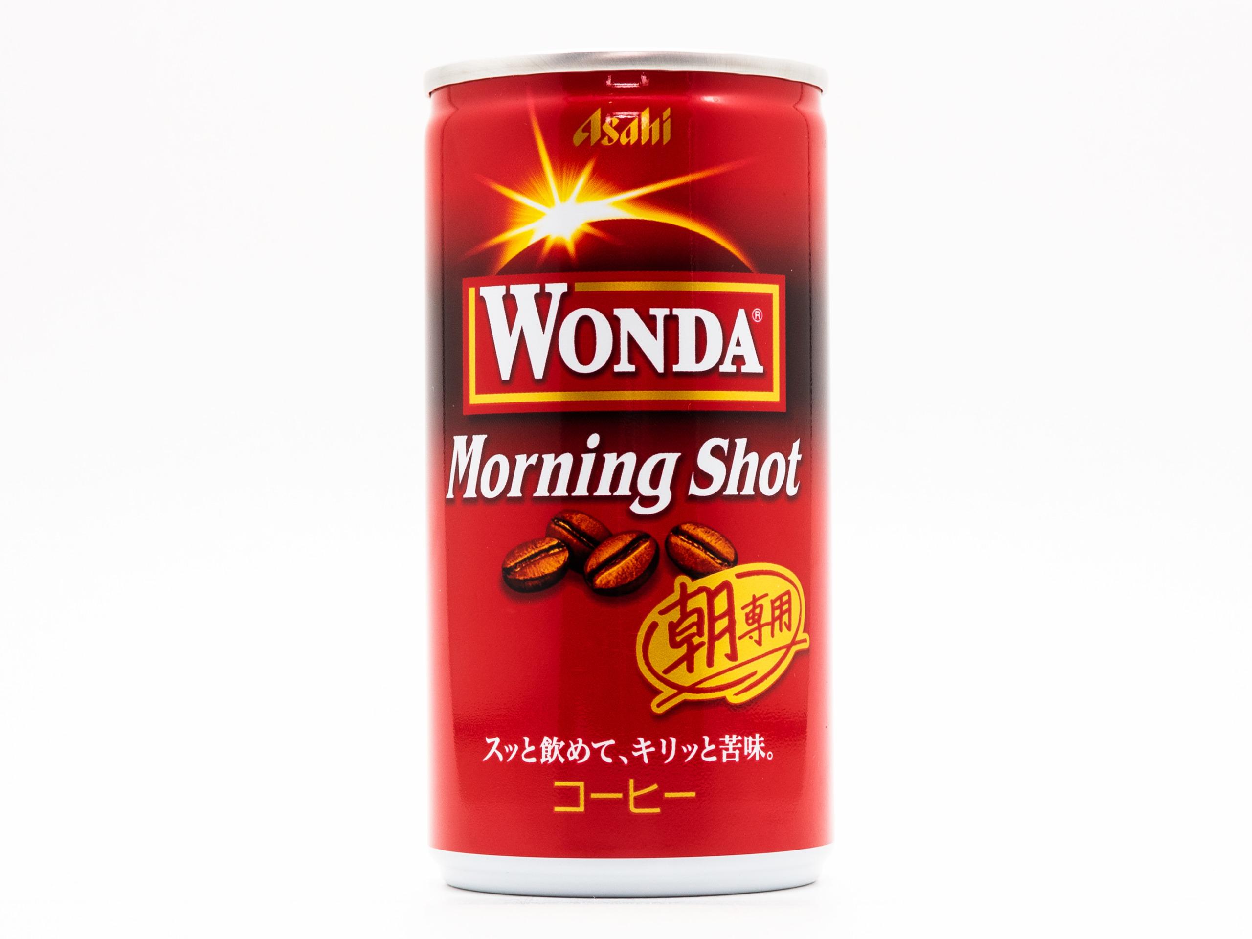 アサヒ飲料 WONDA モーニングショット