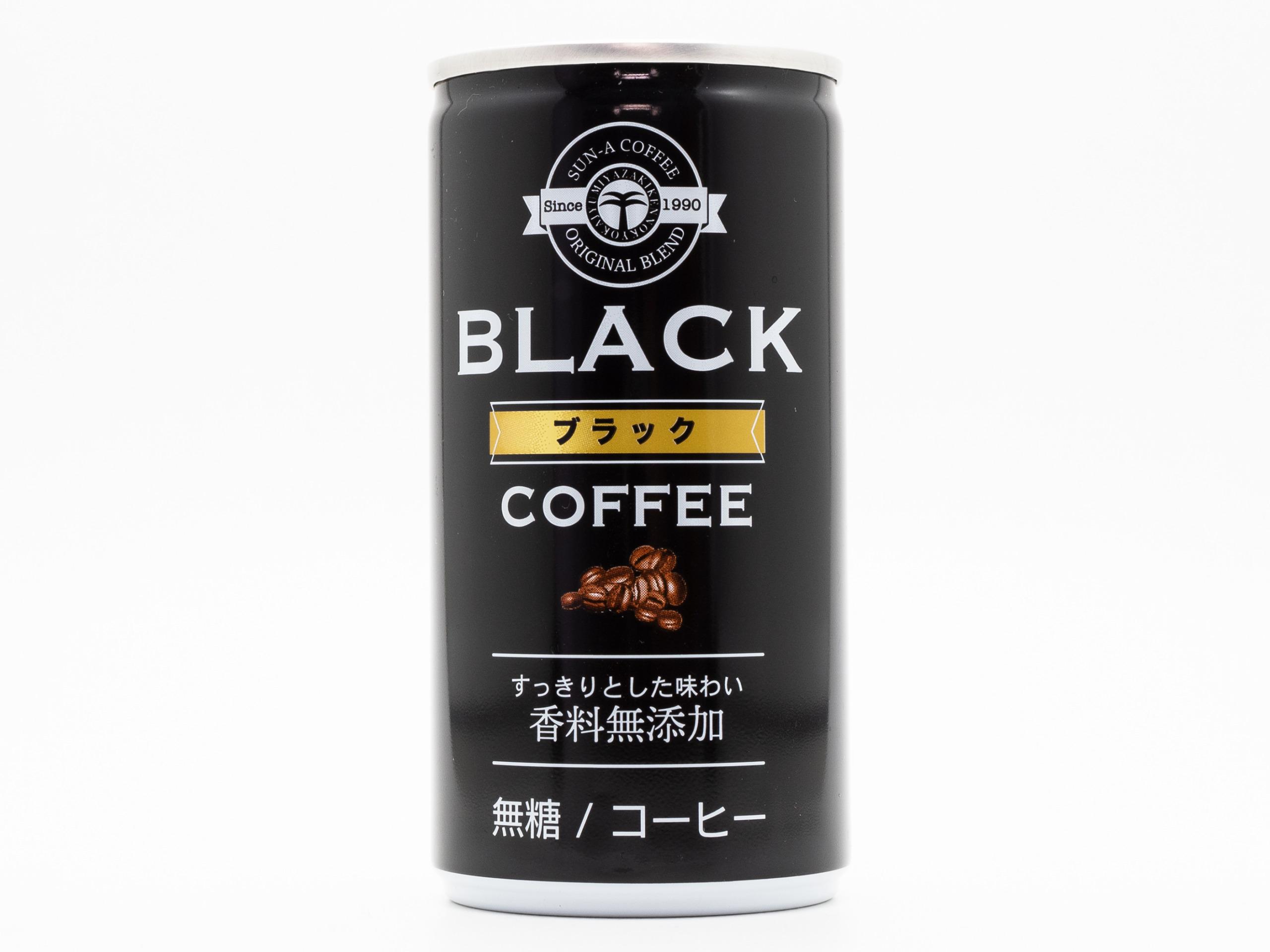 宮崎県農協果汁 ブラック無糖コーヒー