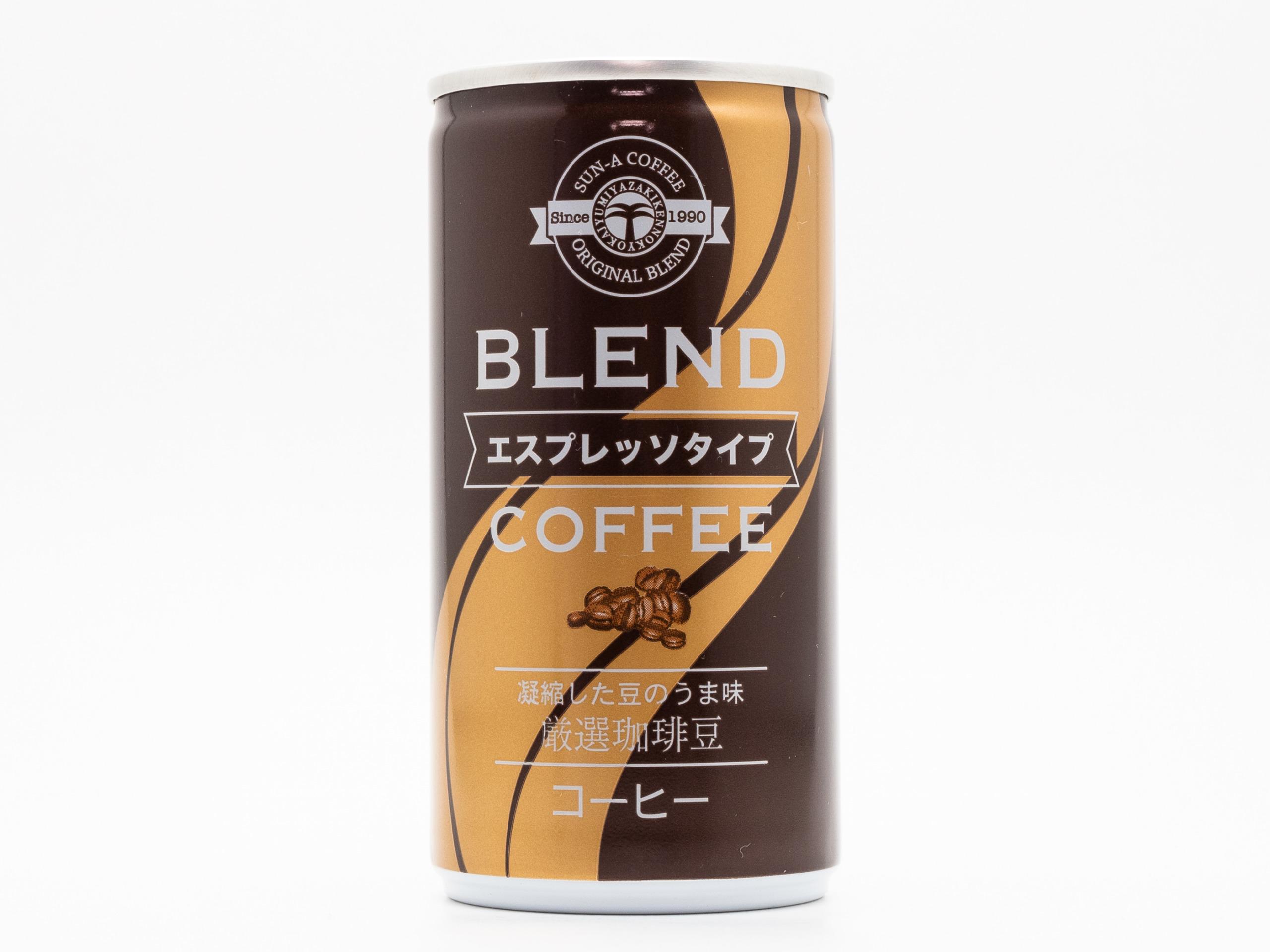 宮崎県農協果汁 エスプレッソタイプ ブレンドコーヒー