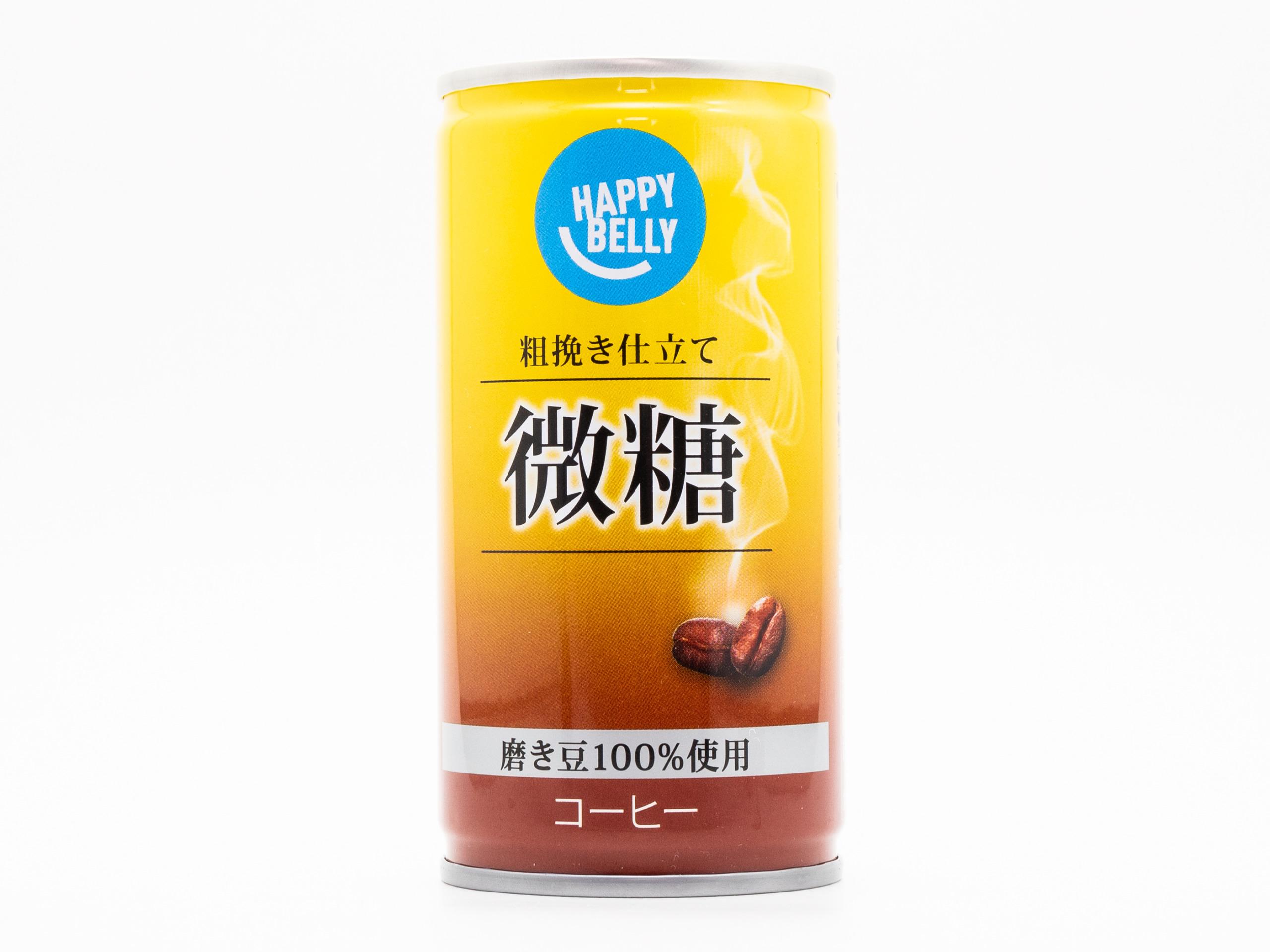 富永食品 Happy Belly 微糖コーヒー