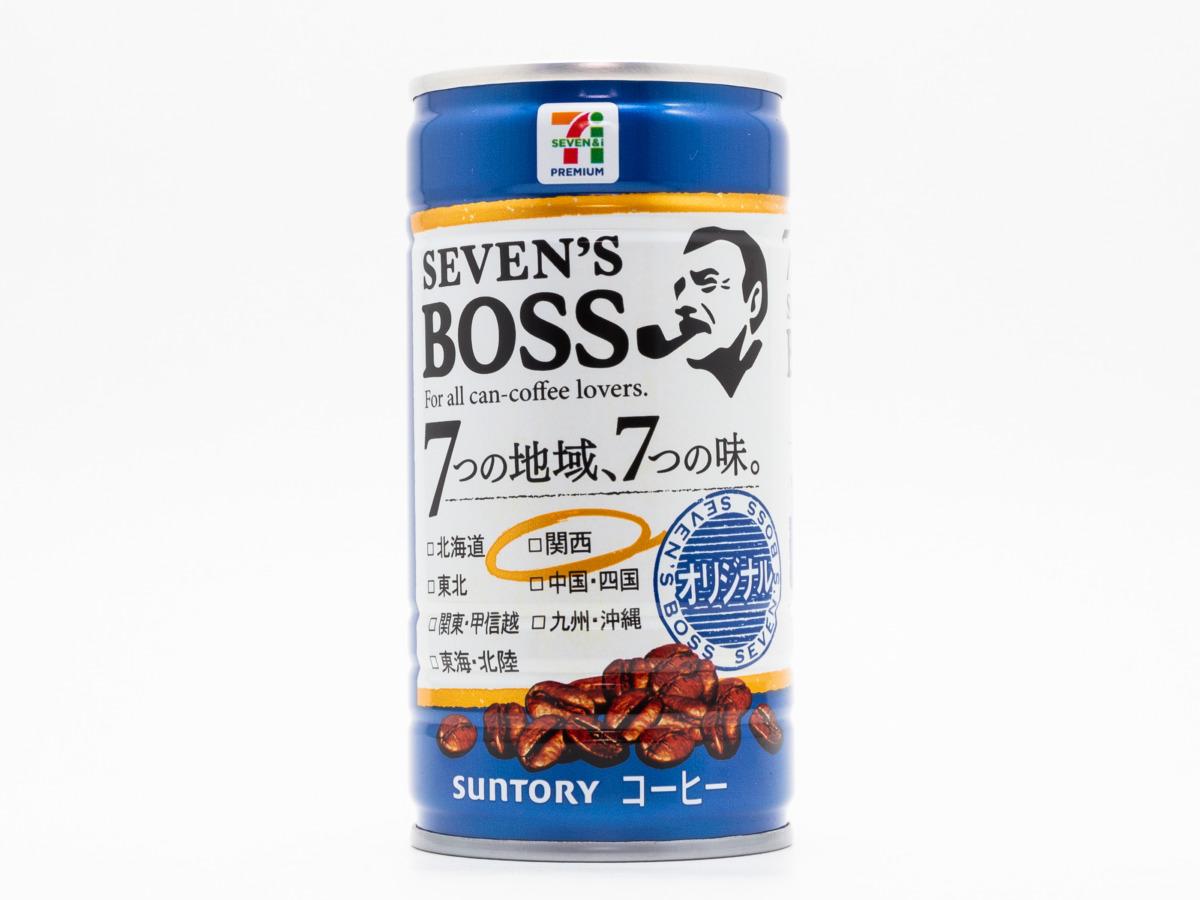サントリーフーズ SEVEN'S BOSS オリジナル 関西限定