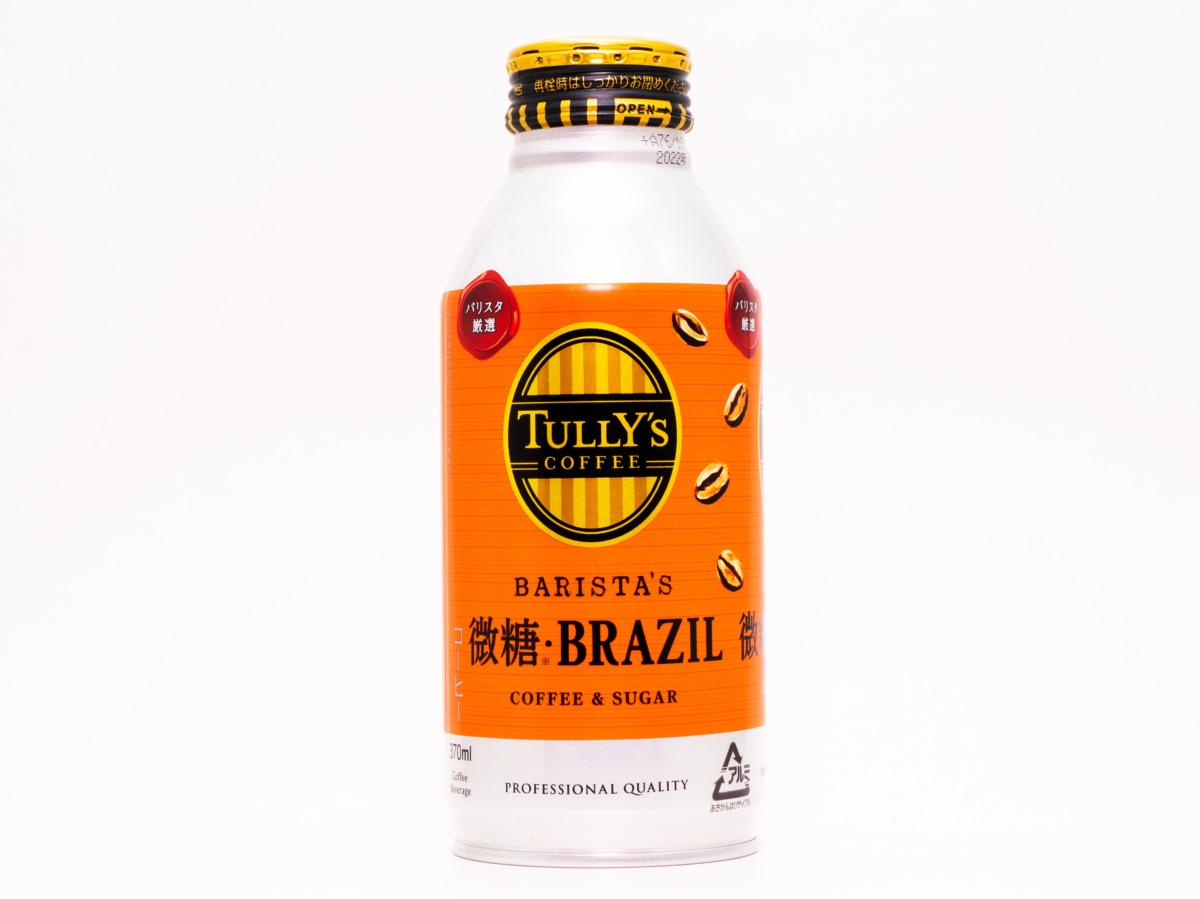 伊藤園 TULLY'S COFFEE BARISTA'S 微糖・BRAZIL ボトル缶370ml