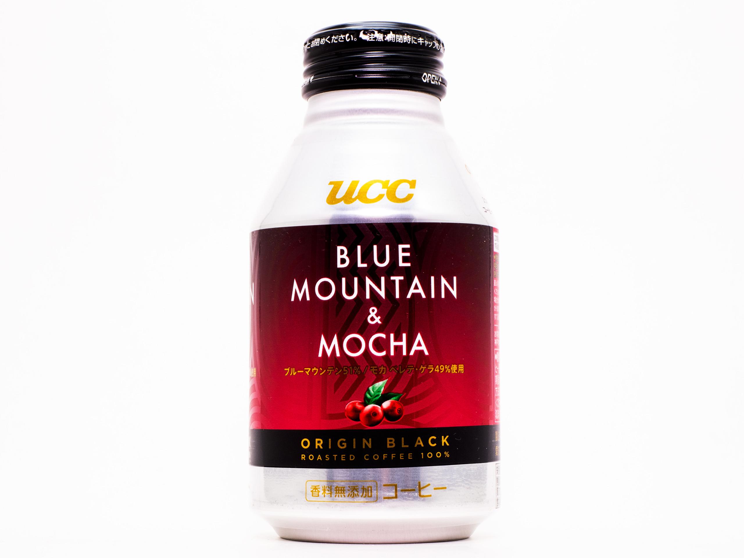 ユーシーシー上島珈琲 UCC ORIGIN BLACK ブルーマウンテン & モカ リキャップ缶275g