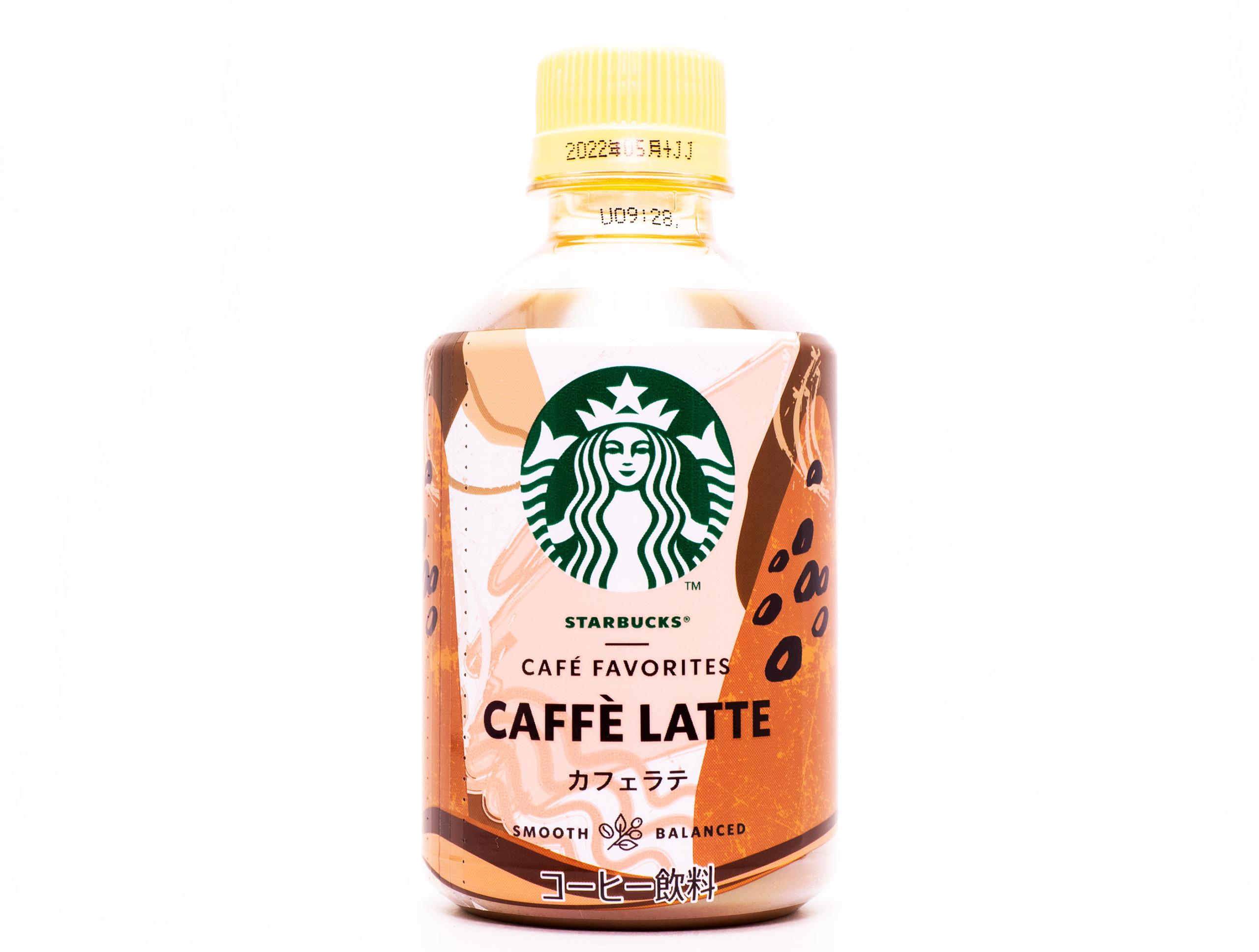 サントリーフーズ スターバックス CAFÉ FAVORITES カフェラテ