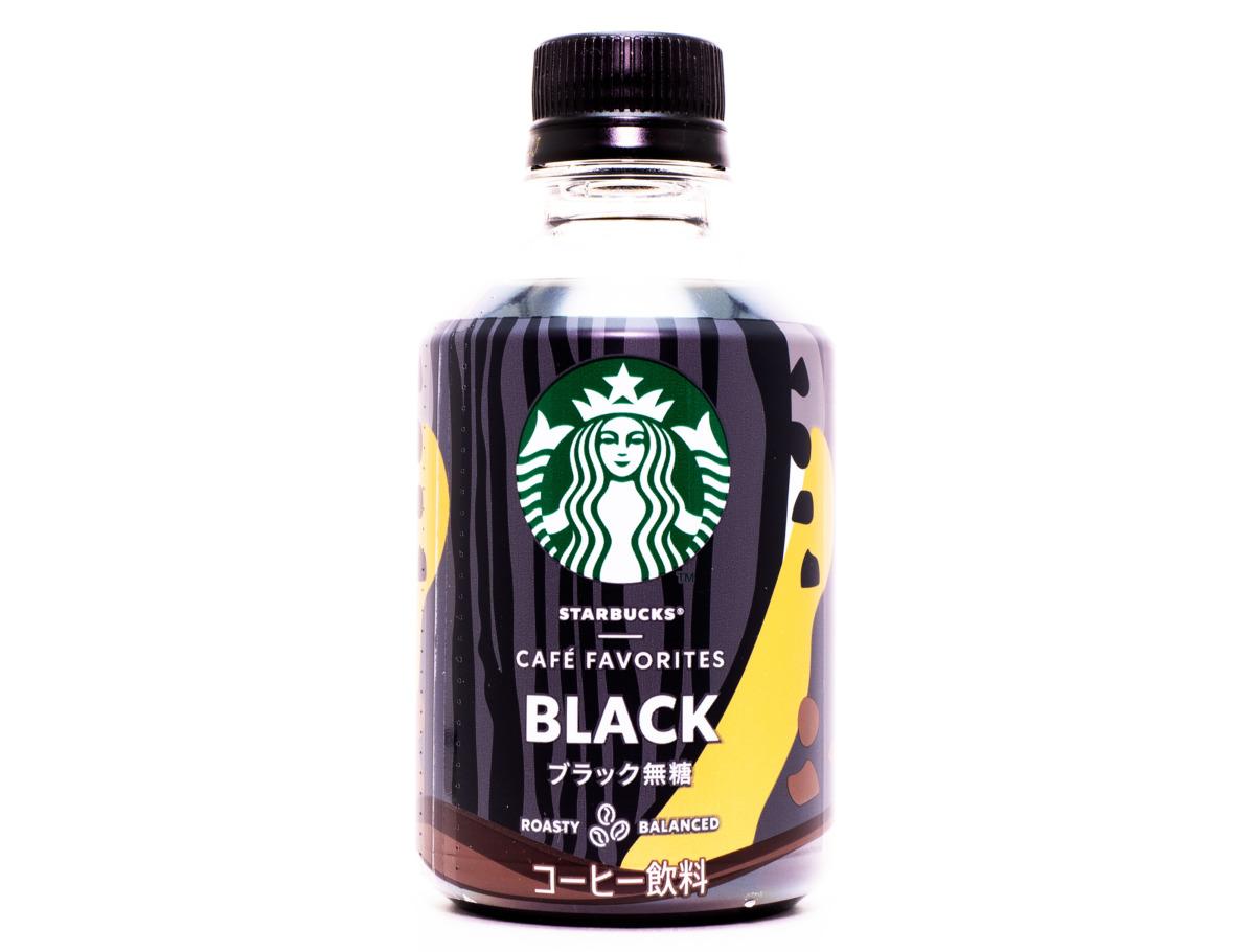 サントリーフーズ スターバックス CAFÉ FAVORITES ブラック無糖