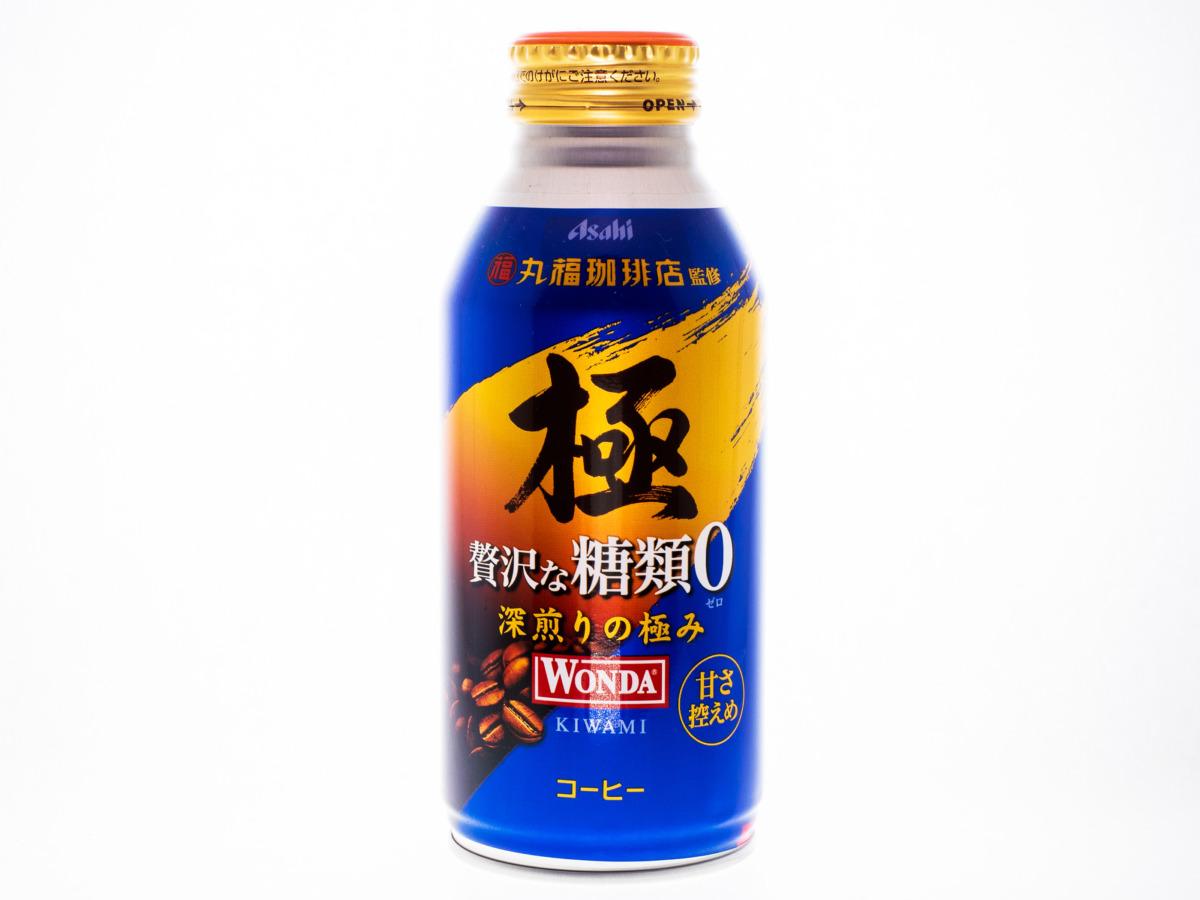 アサヒ飲料 WONDA 極 贅沢な糖類0 370gボトル缶