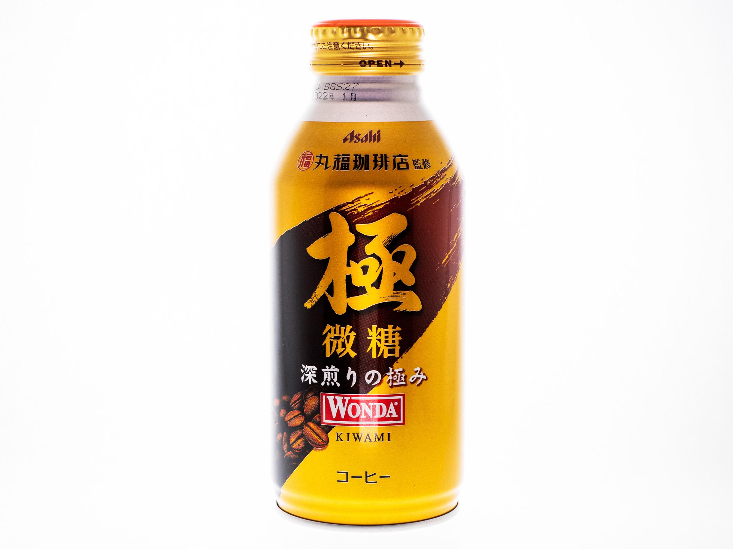 アサヒ飲料 WONDA 極 微糖 ボトル缶370g