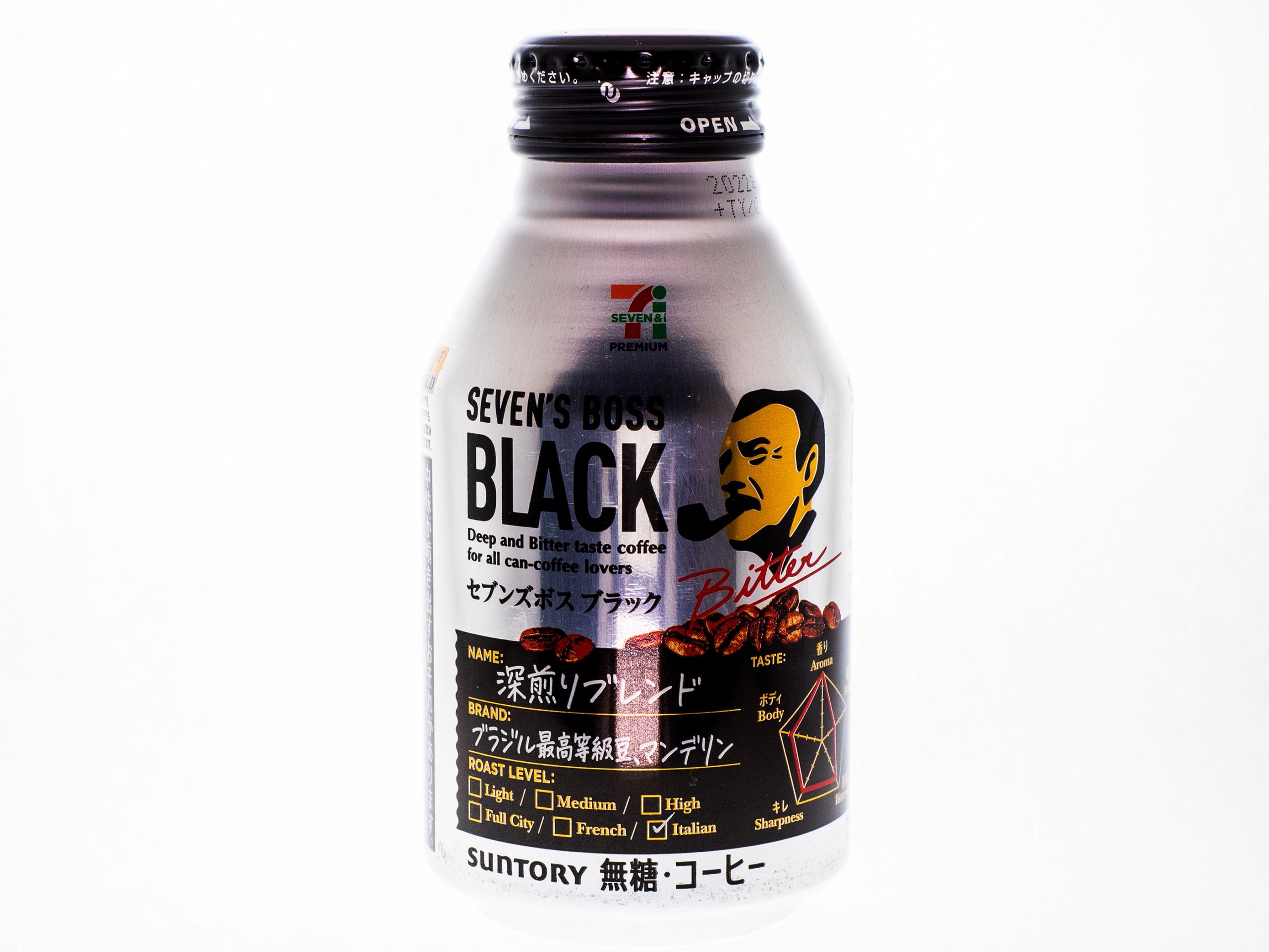 サントリーフーズ SEVEN'S BOSS ブラック 285gボトル缶