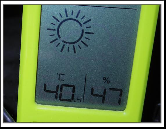 8月10日の室内温度