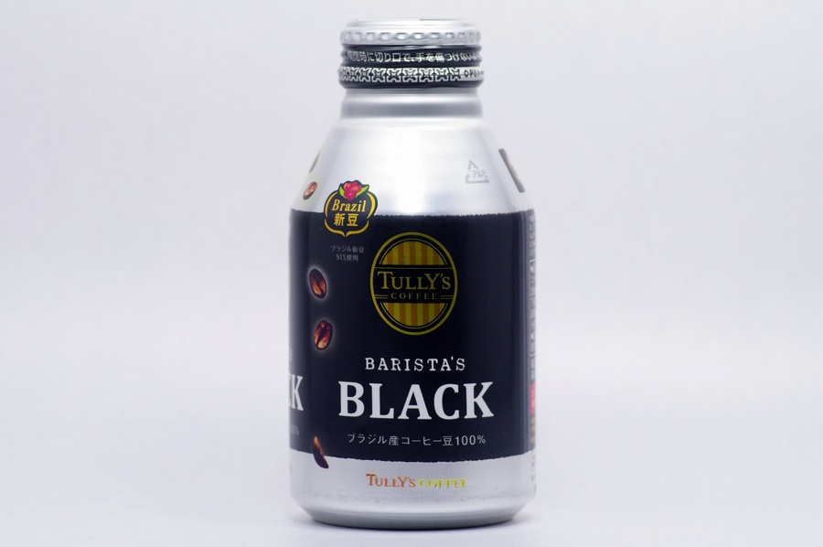 TULLY'S COFFEE BARISTA'S ブラック 285mlボトル缶