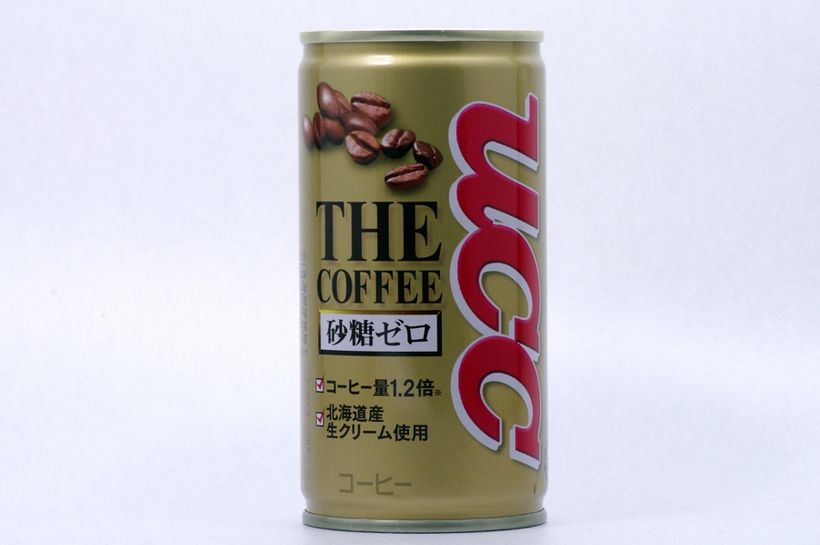 THE COFFEE 砂糖ゼロ 185g缶