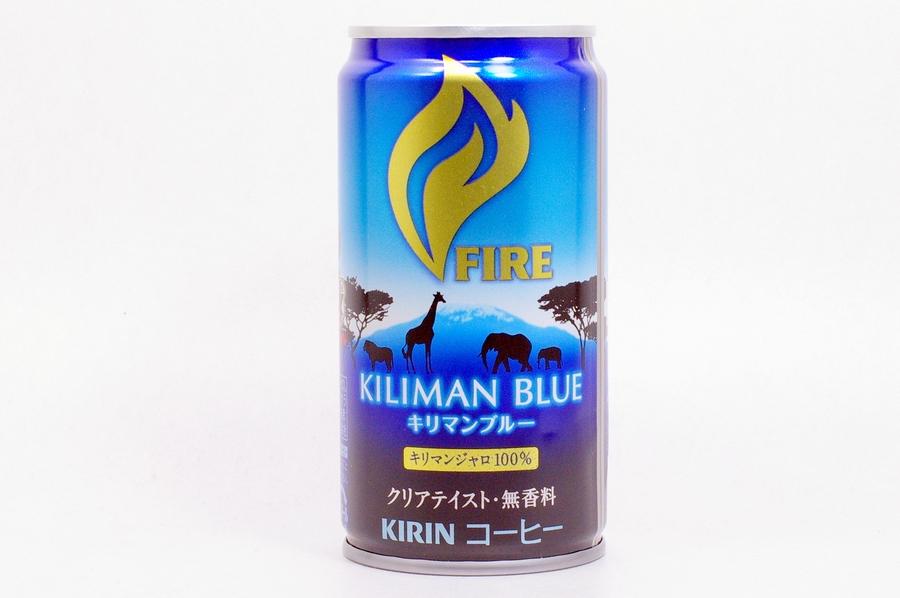 FIRE キリマンブルー サッカー日本代表応援缶