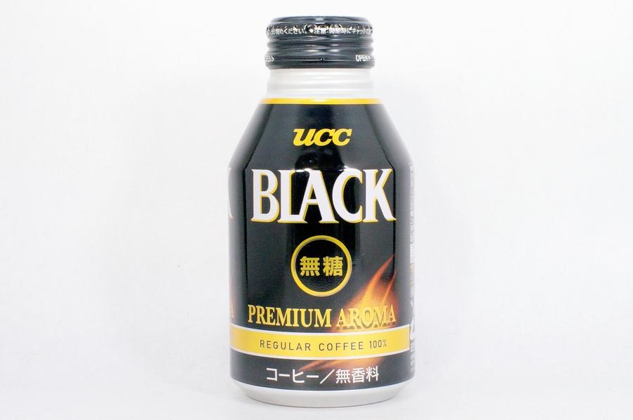UCC BLACK無糖 PREMIUM AROMA リキャップ缶275g
