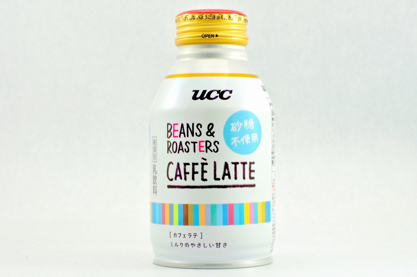 UCC BEANS & ROASTERS CAFFE LATTE 砂糖不使用