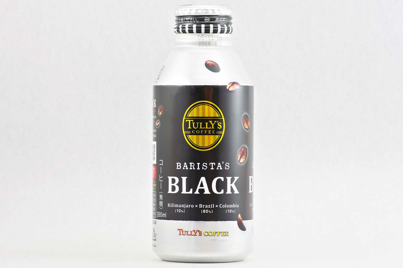 TULLY'S COFFEE BARISTA'S BLACK 390mlボトル缶 2015年5月