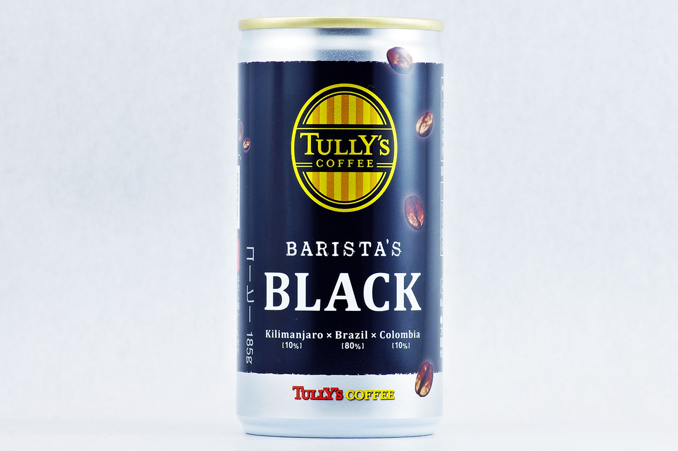 TULLY'S COFFEE BARISTA'S BLACK 185g缶 2015年11月