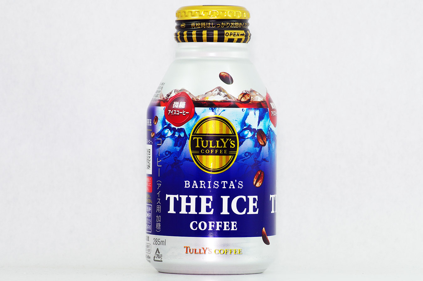 TULLY'S COFFEE BARISTA'S COFFEE 微糖 285mlボトル缶 2015年