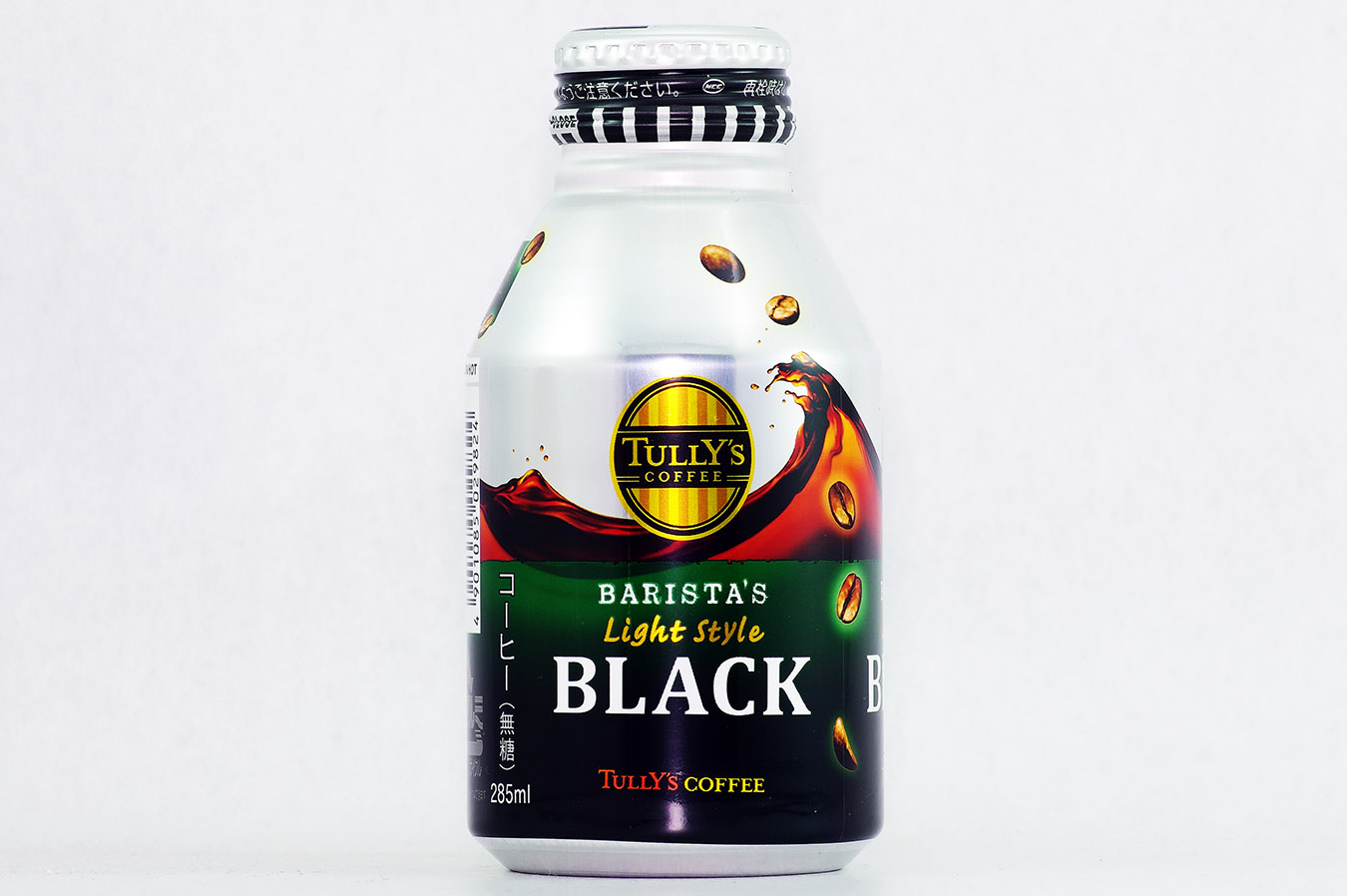 TULLY'S COFFEE BARISTA'S Light Style BLACK ボトル缶 285ml 2016年4月