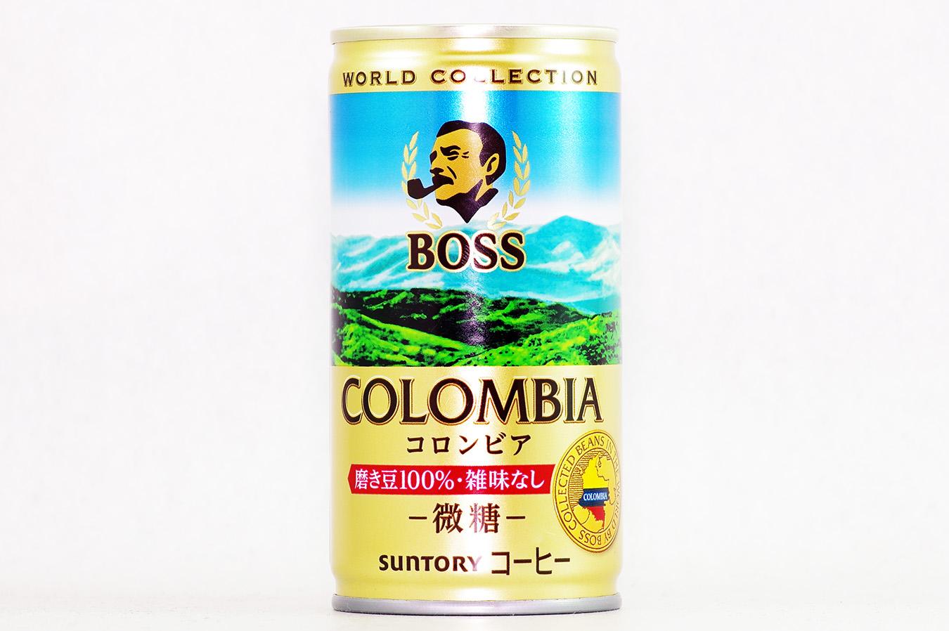 BOSS ワールドコレクション コロンビア 2016年