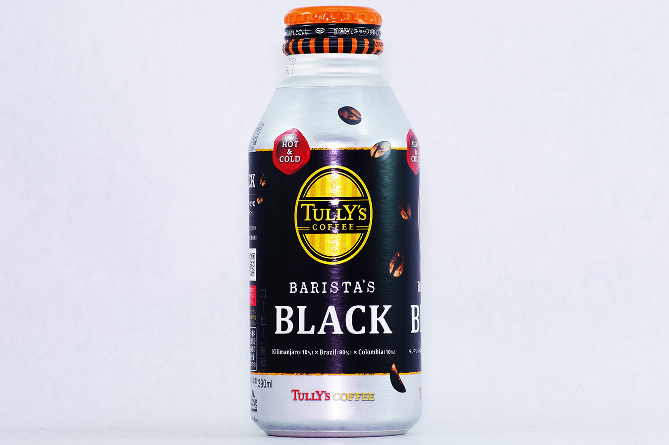 TULLY'S COFFEE BARISTA'S BLACK 390mlボトル缶 2016年9月