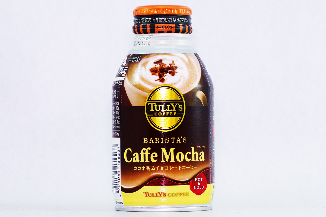 TULLY'S COFFEE BARISTA'S  カフェモカ 2016年10月