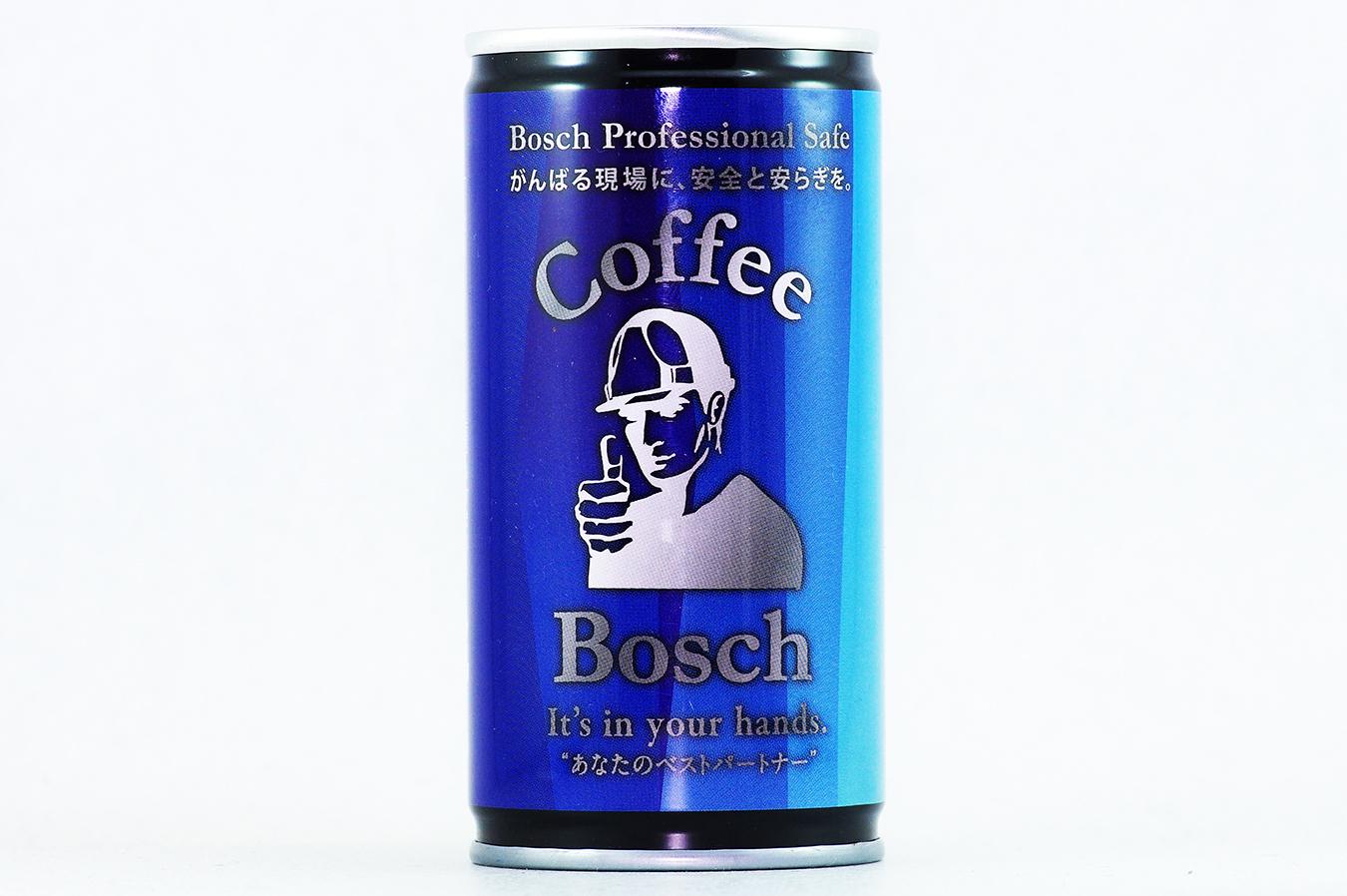 コーヒー ボッシュ [微糖] 1 2018年8月