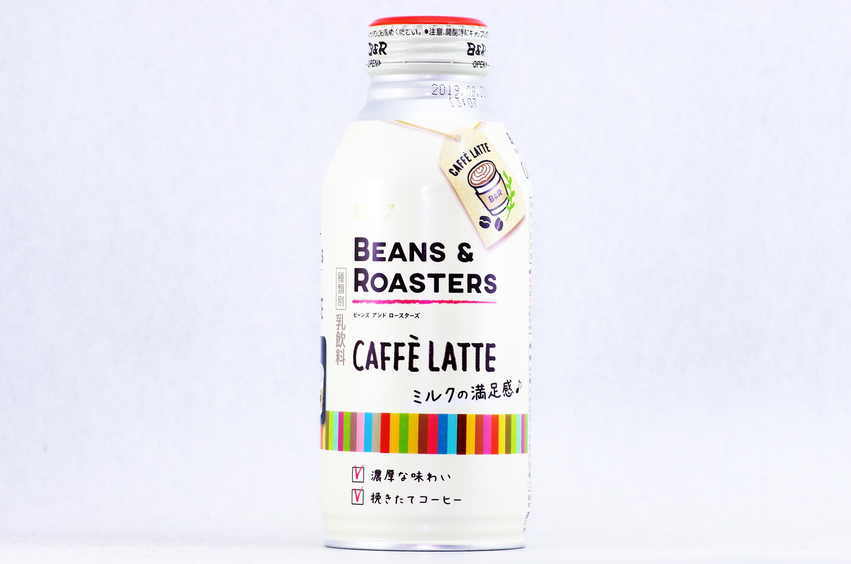 UCC BEANS & ROASTERS CAFFÈ LATTE 375gボトル缶
